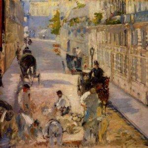 067 Мане, Эдуард.Дорожные рабочие на улице Берн