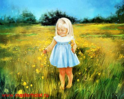 73сн Детский портрет