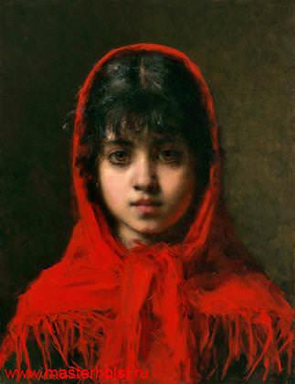 75сн Детский портрет