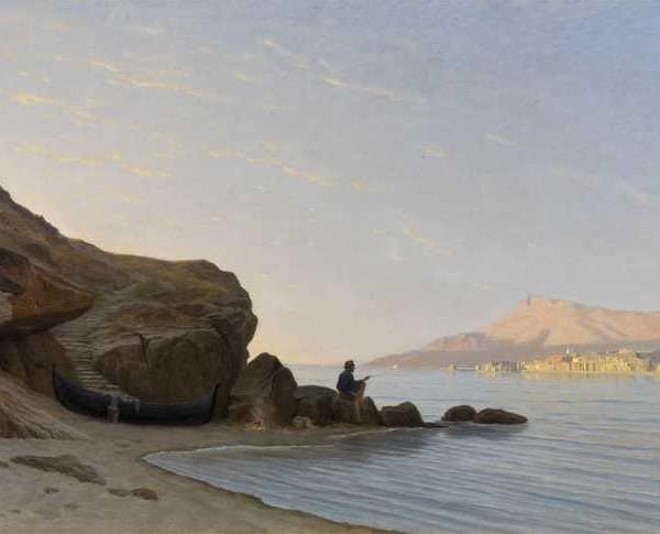 075м Gustave Paul ROBINET - The Greek Coast