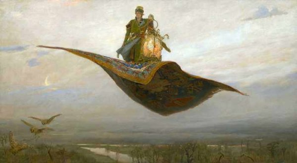 076 Васнецов В М. Ковер-самолет