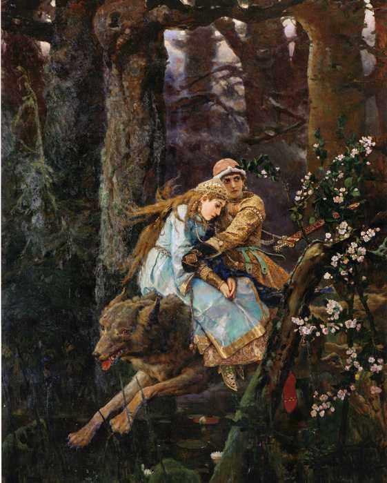078 Васнецов Иван царевич на сером волке