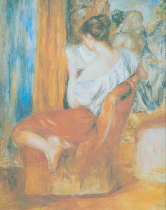 078 Ренуа А. Женщина читает