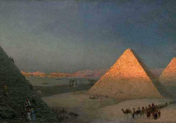 081м Айвазовский И К.Пирамиды