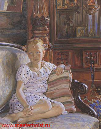 86сн Детский портрет
