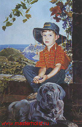 91сн Детский портрет