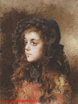 95сн Детский портрет