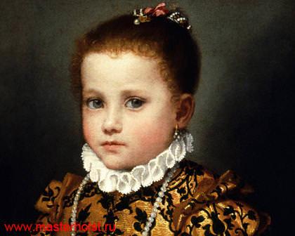 102сн Детский портрет