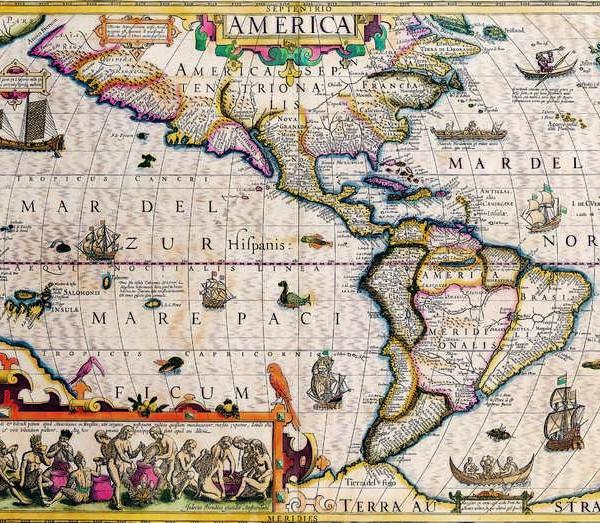 031 Старинные карты мира