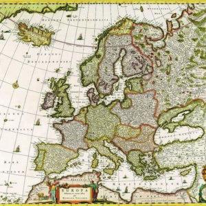 038 Старинные карты мира