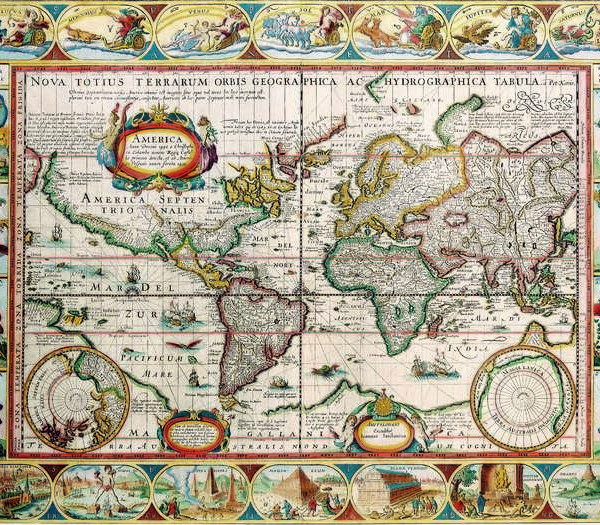 030 Старинные карты мира