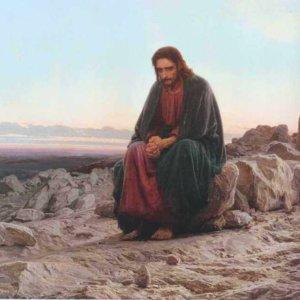 112 Крамской И. Н. Иисус в пустыне