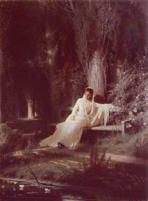 113 Крамской НН Лунная ночь 1880