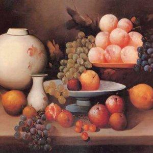 119 натюрморт с виноградом