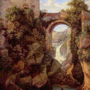 114 Райнхарт, Иоганн Кристиан.Вид Тиволи