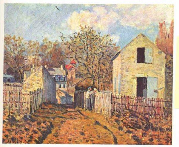 115 Сислей, Альфред.Деревня Вуазен