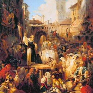 121 Ломтев М, Проповедь Савонаролы во Флоренции