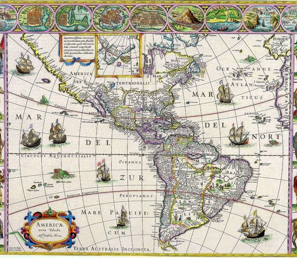 029 Старинные карты мира