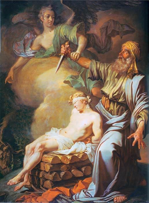 124 Лосенко, А. Авраам приносит в жертву сына