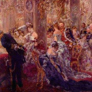 130 Менцель, Адольф Фридрих Эрдман фон.В Белом зале
