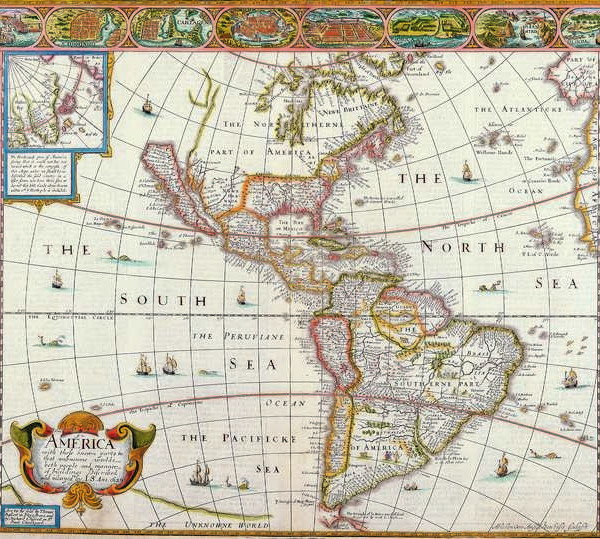 028 Старинные карты мира