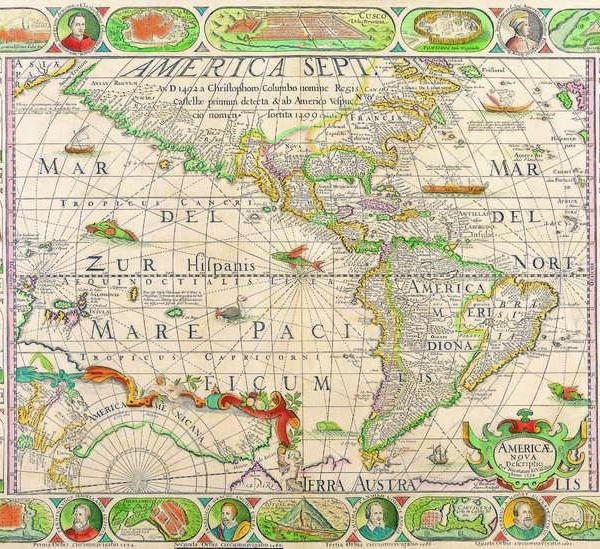 027 Старинные карты мира