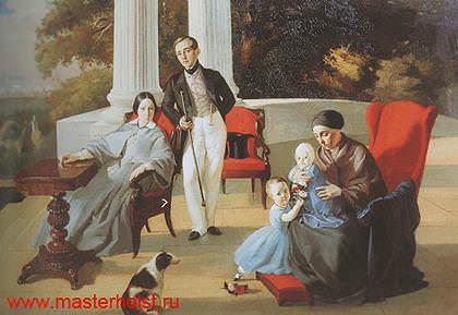 139g Семейный портрет