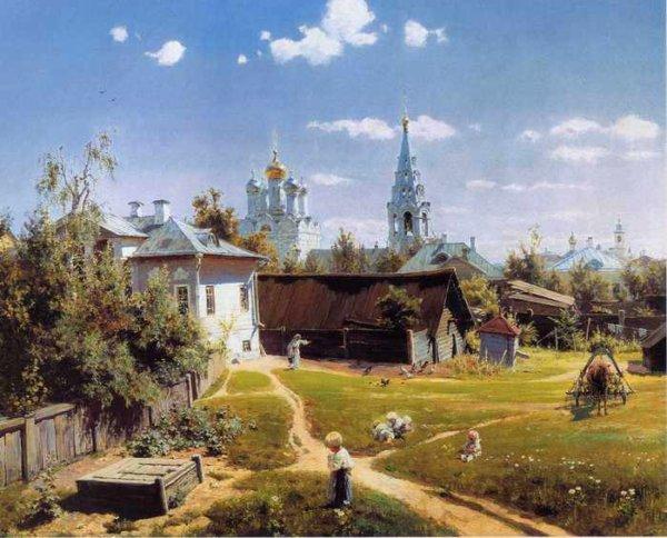147 Поленов, В.Д. Московский дворик