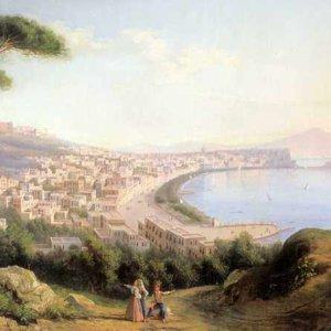 140 Щедрин, С Ф.Вид на Неаполь с дороги в Позилиппо