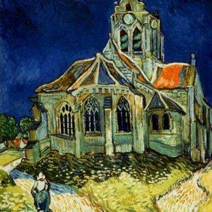 145 Ван Гог,Церковь в Овере