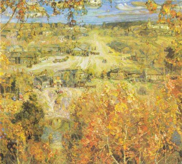 149 Бродский, И И. Золотая осень