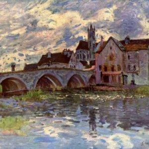 152 Сислей, Альфред.Мост в Море-сюр-Луэн