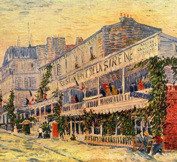155 Ван Гог,Ресторан Сирена в Аньере