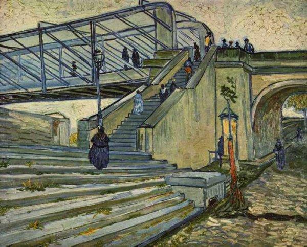 156 Ван Гог,Мост Тренкетей