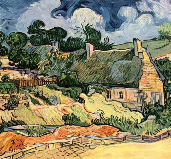 157 Ван Гог,Хижины в Кордевилле
