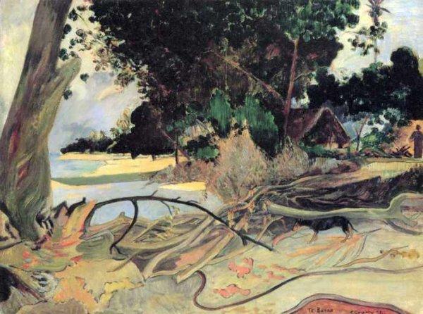 159 Гоген, Поль.Толстое дерево