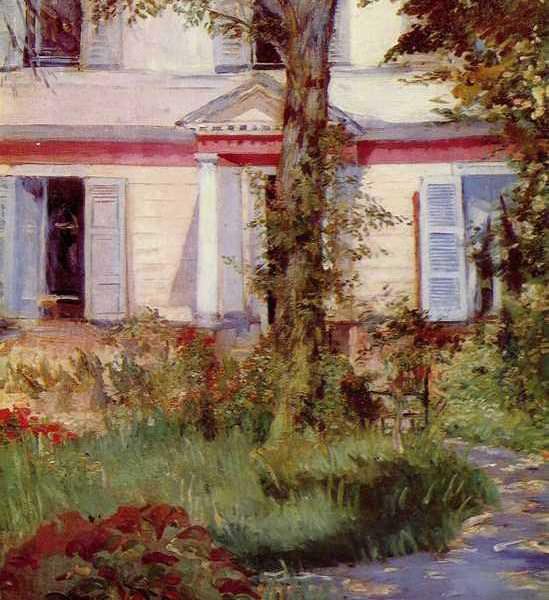 160 Мане, Эдуард.Дом в Рюэе