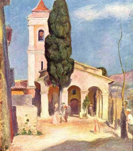 164 Ренуар, Пьер-Огюст.Церковь в Кане