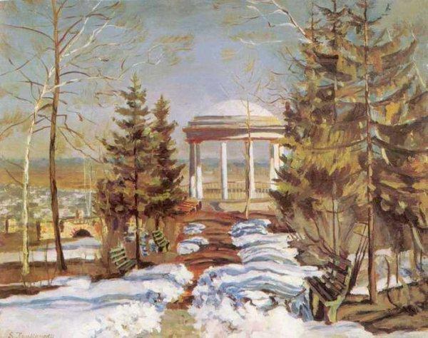 172 Жуковский, С Ю.Ранняя весна