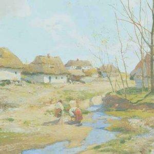 173 Васильковский С,Весенний день на Украине