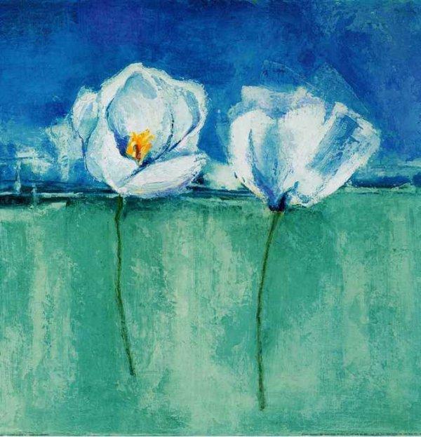 024 Херберт, Изабель. Два цветка