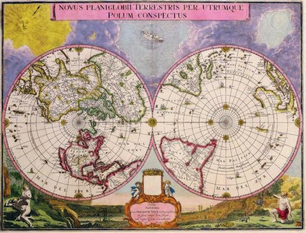 021 Старинные карты мира