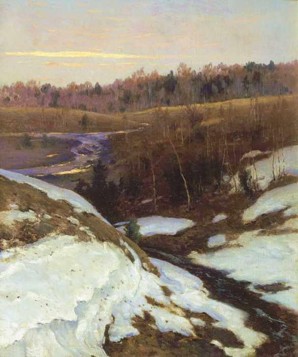 191 Крыжицкий, К.Я. Ранняя весна