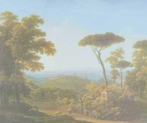199 Матвеев Ф, Итальянский пейзаж
