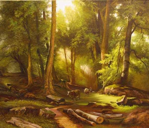 202 Монстед, Педер. В лесу