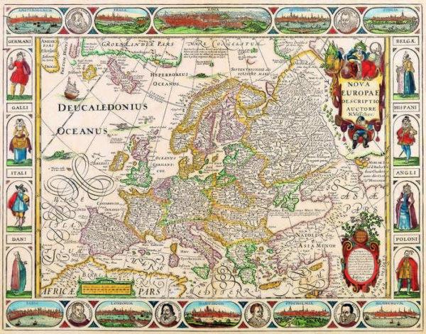 039 Старинные карты мира