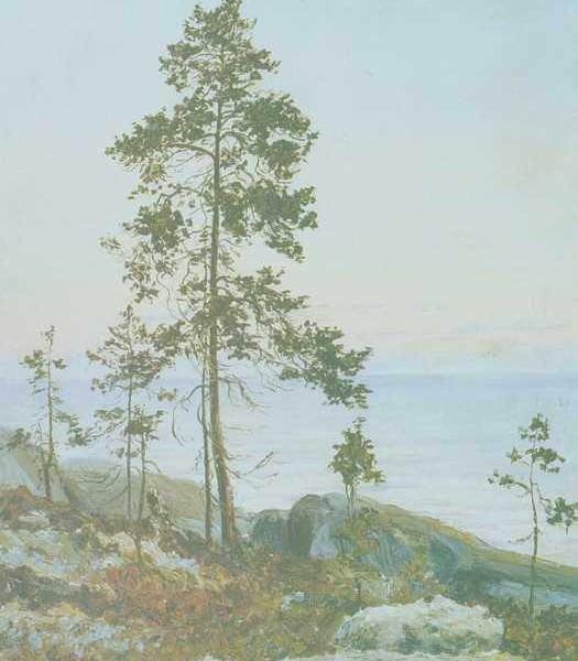 224 Писахов С,Берег белого моря, Восход солнца