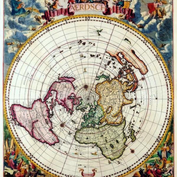 016 Старинные карты мира