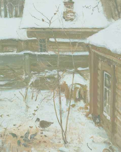 245 Соврасов А, Дворик, Зима