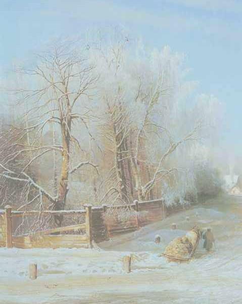 246 Соврасов А, Зимний пейзаж